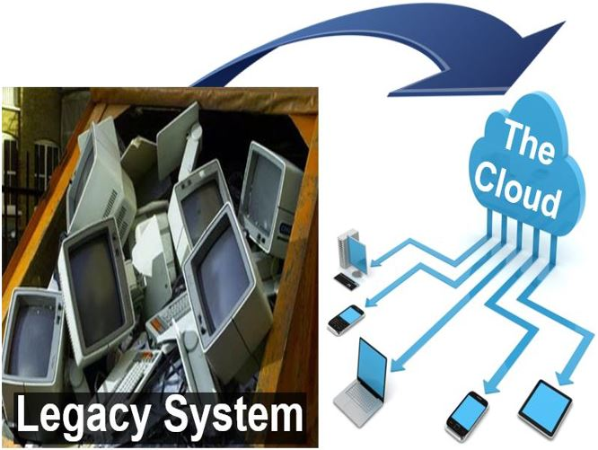 From a legacy system to the cloud
