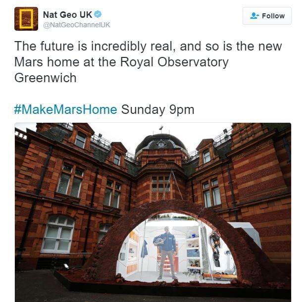 Mars show home