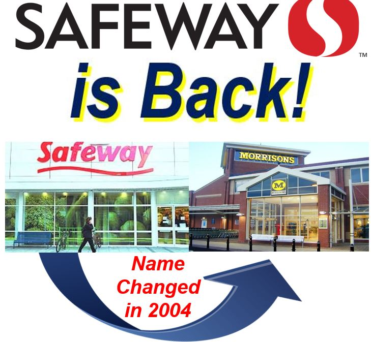 Safeway and Morrisons