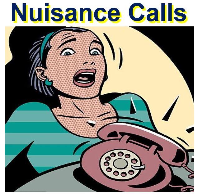 Telemarketing nuisance calls