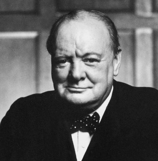 Winston Churchill: motivation quote
