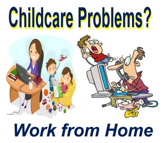 Teleworking may resolve childcare costs problems