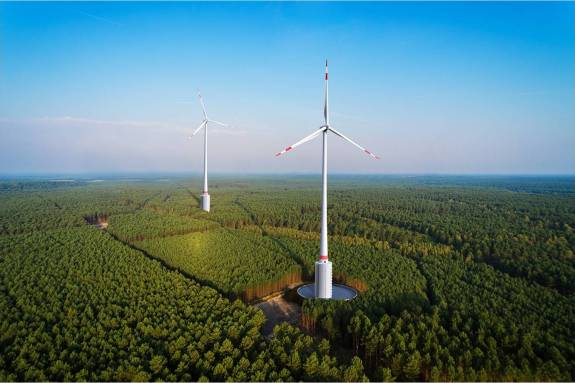 hydropower-integrated wind turbines
