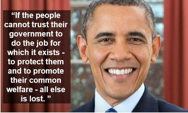 Barack Obama welfare quote