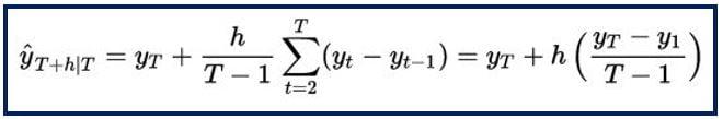 Forecasting formula 2