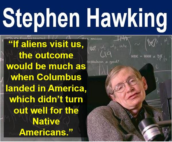 Stephen Hawking - are aliens contacting us