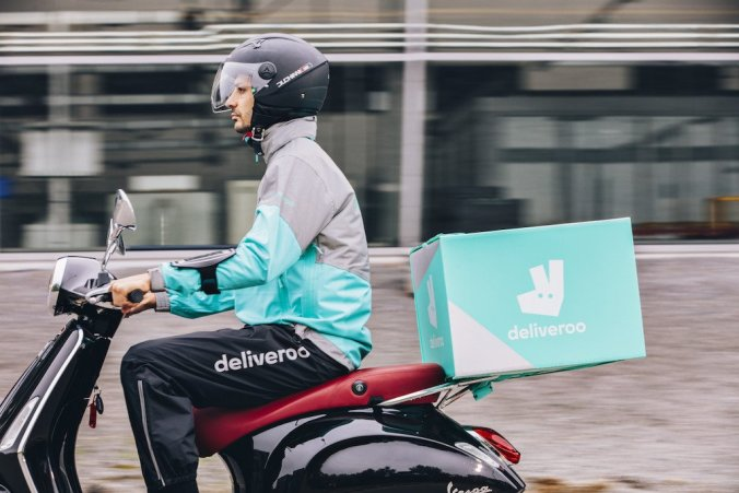 gig economy workers Deliveroo rider