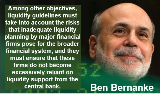 Quote by Ben Bernanke