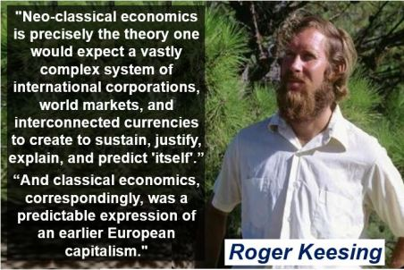 Roger Keesing - neo-classical economics quote