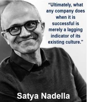 Satya Nadella indicator quote