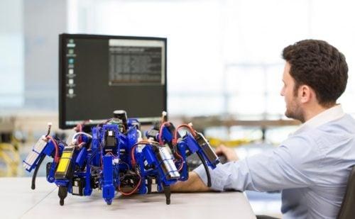 3D printing Siemens spider-bot