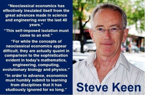 Steve Keen - neoclassical economics quote