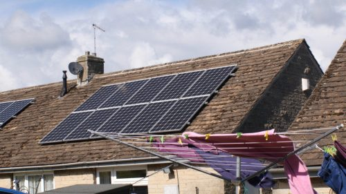 Energise Barnsley solar panels