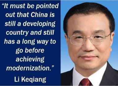 China quote - Li Keqiang