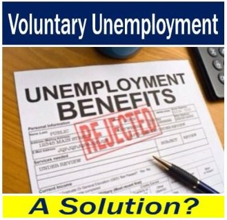 Voluntary unemployment - solution or not
