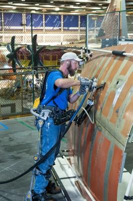 robotic exoskeleton Fortis - credit Lockheed Martin