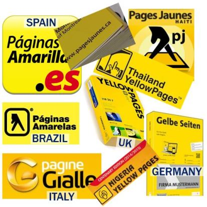 Yellow Pages around the world