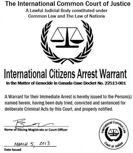Arrest warrant