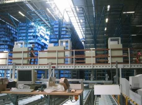Automatic storage warehouse