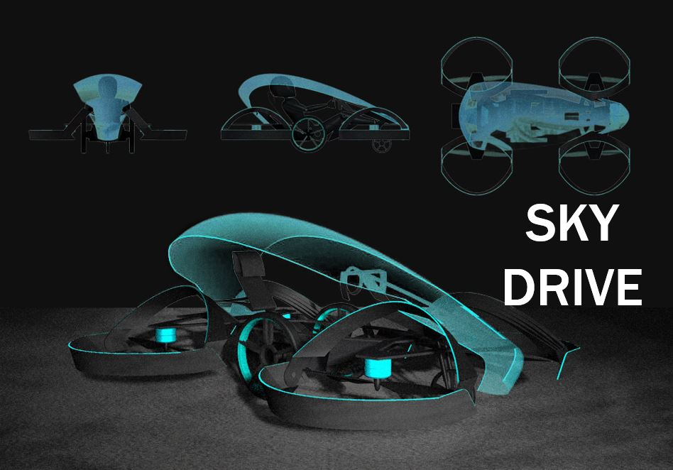 Sky Drive - flying car