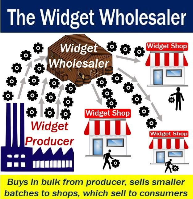 what is a wholesaler  definition and meaning