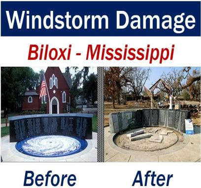 Windstorm Damage - Biloxi