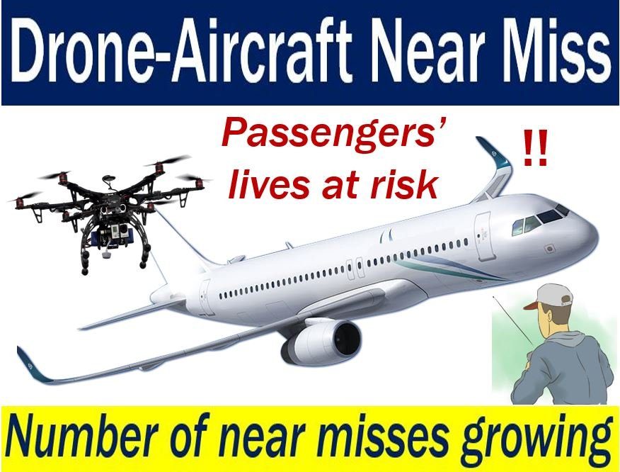 Done aircraft near miss - number increasing