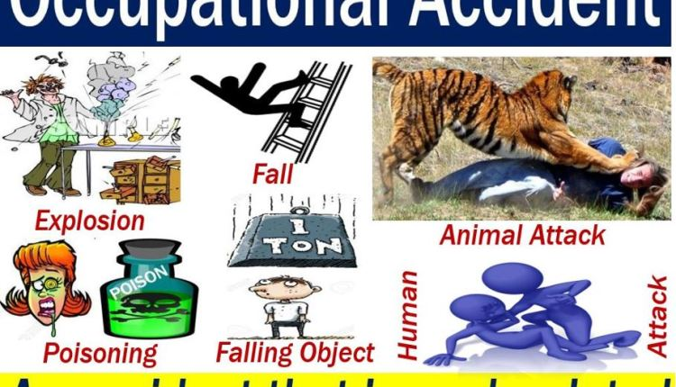 Occupational accident – image with explanation and examples