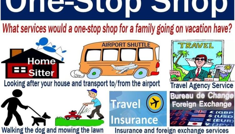 One-stop shop - definition and examples