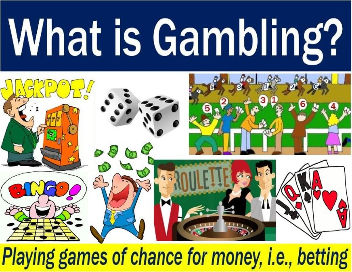 definition contribute meaning gambling