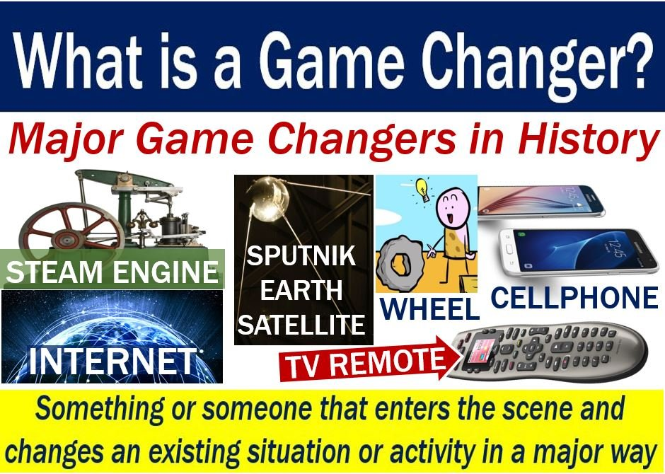 Game Changer - definition plus some examples