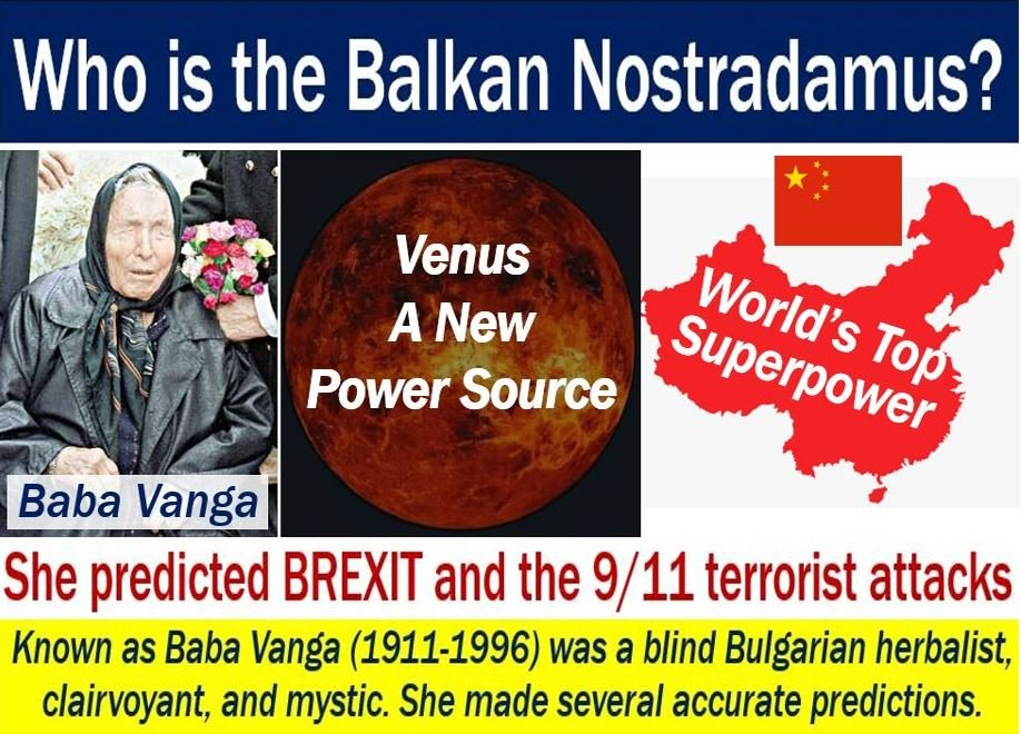 Balkan Nostradamus - Baba Vanga and 2018 predictions