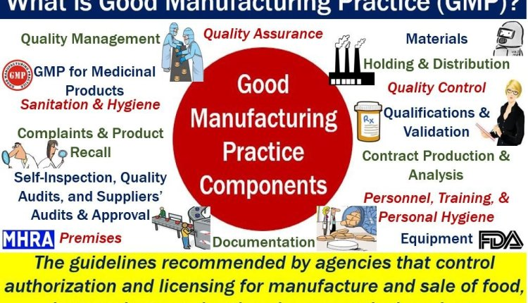 Good Manufacturing Practice GMP - definition and list of components