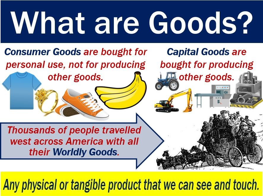 Goods - definition and some examples