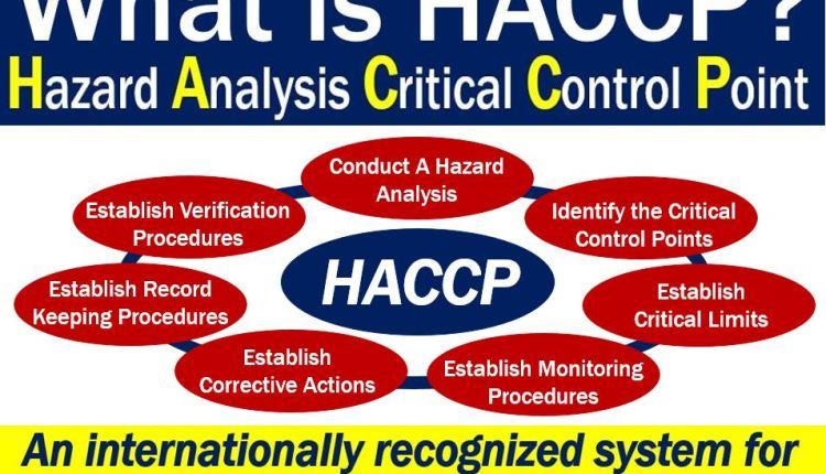 HACCP - definition and seven principles
