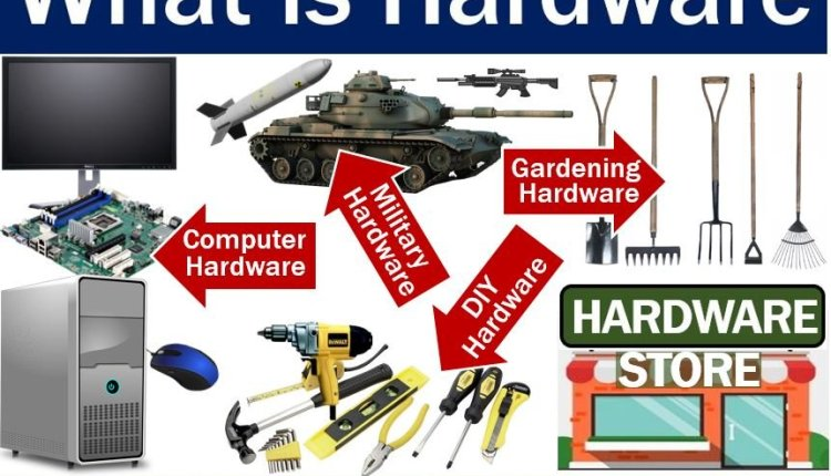 Hardware – definition and examples