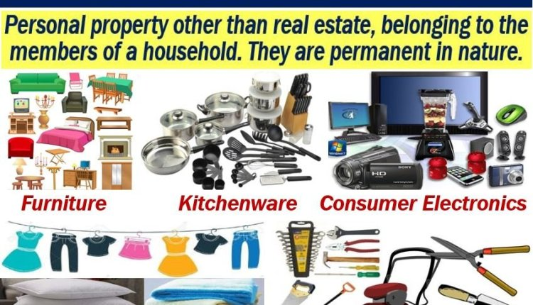 Household goods - definition and examples