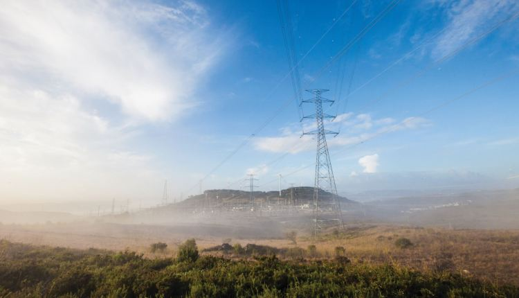 Portugal electricity network – credit REN