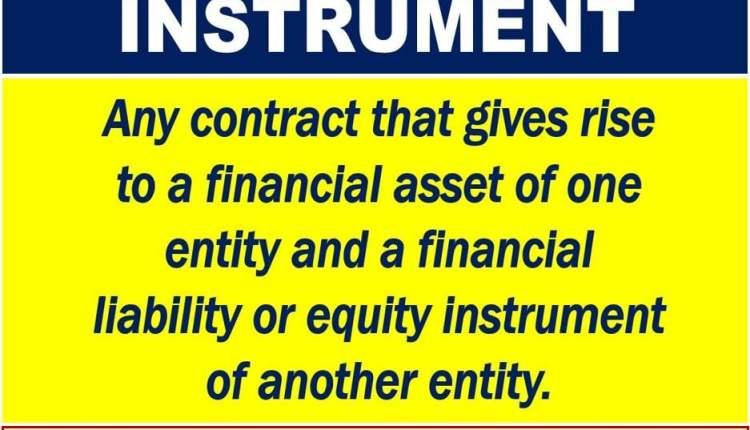 Financial Instrument Definition