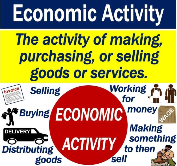 What is economic activity? Definition and examples