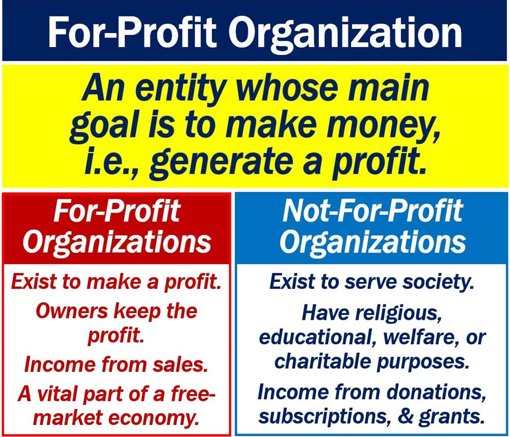 what is a for-profit organization? examples - market business news