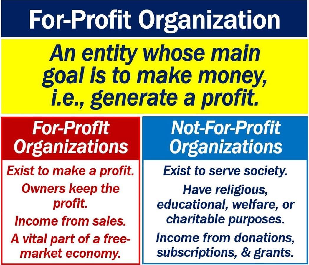 For-Profit Organization
