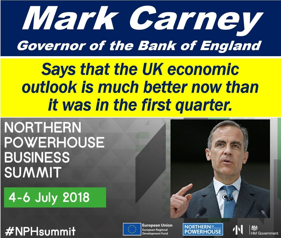 UK Economic Outlook - Marc Carney comments