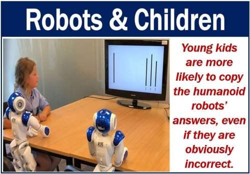 Humanoid robots and children