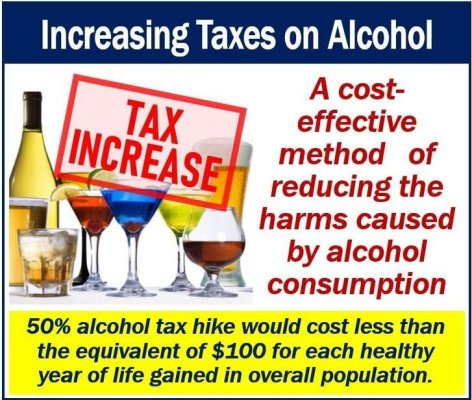 Raising alcohol taxes image