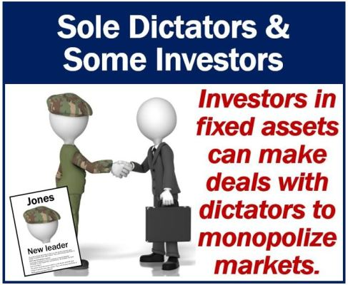 Sole dictator and investor