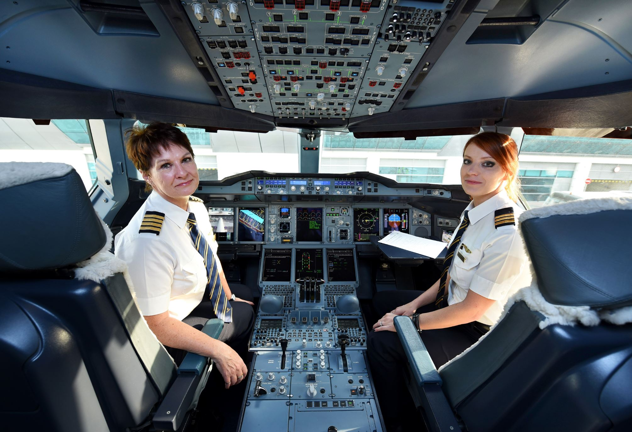 Female pilots: Aviation industry lagging in 'pilot gender equality