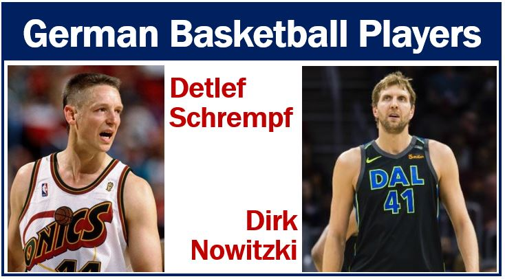 Basketball players – most popular sports in Germany