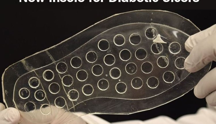New insole for diabetic ulcers