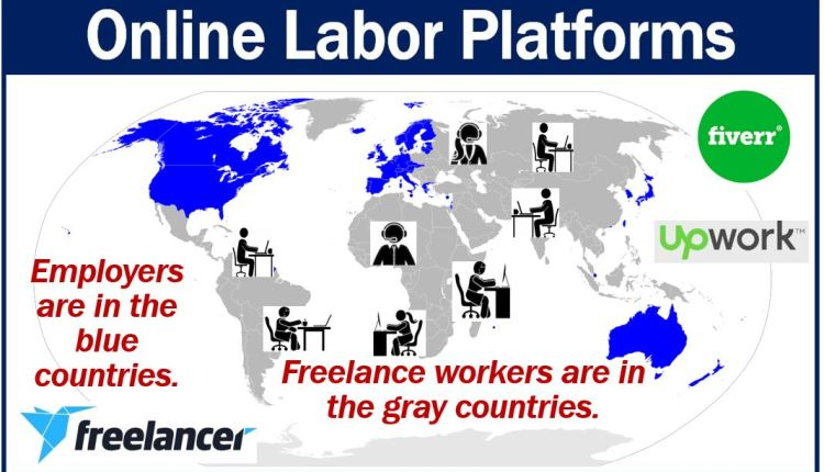Online labor platforms